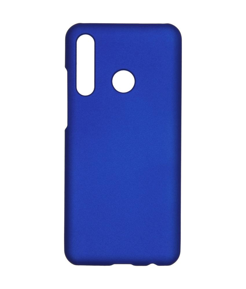 Effen Backcover Huawei P Smart Plus (2019) - Blauw