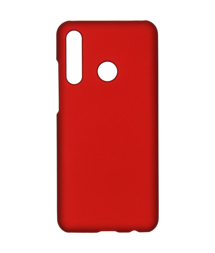 Effen Backcover Huawei P Smart Plus (2019) - Rood