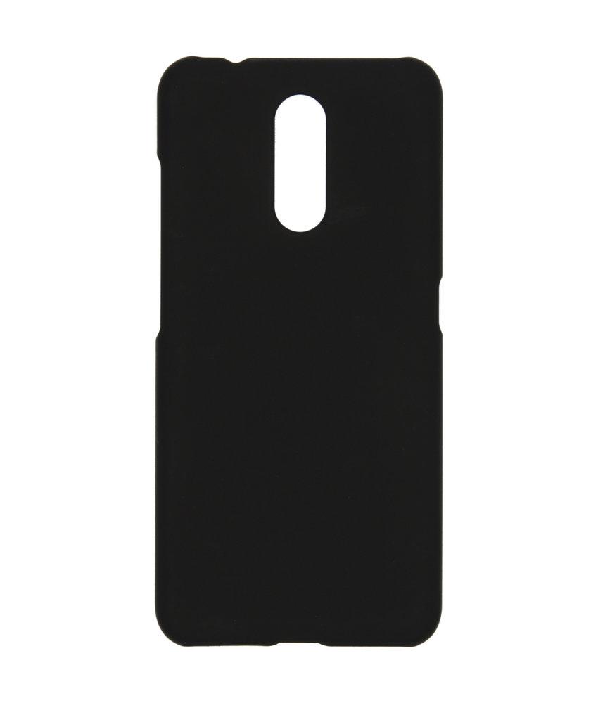 Effen Backcover Nokia 3.2  - Zwart