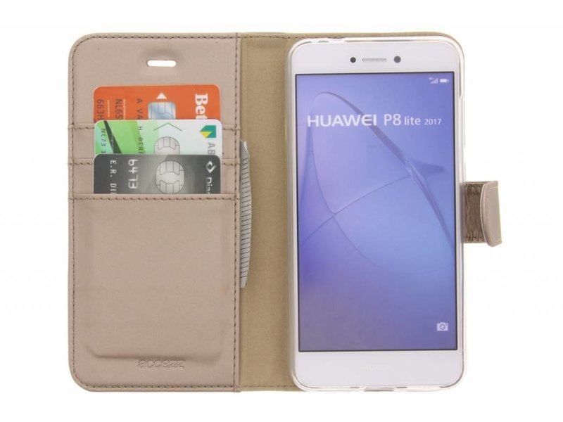 Huawei P8 Lite (2017) hoesje - Accezz Wallet Softcase Booktype