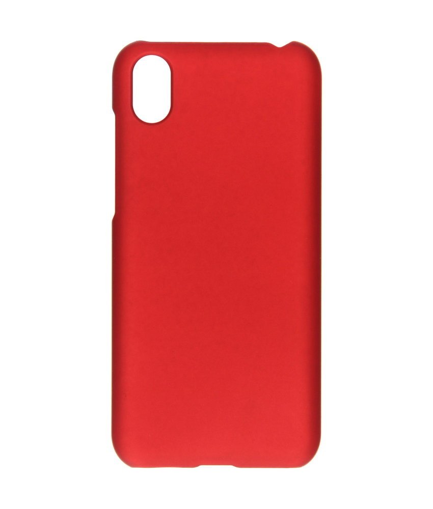 Effen Backcover Huawei Y5 (2019) - Rood