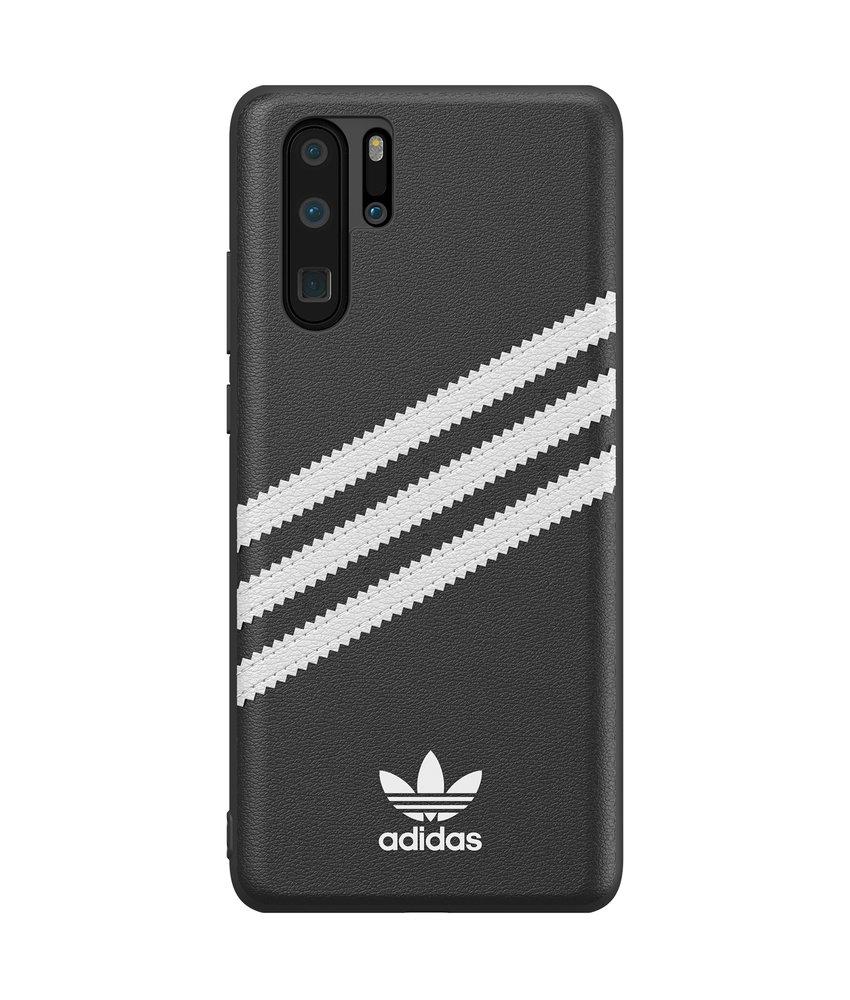 adidas Originals Samba Backcover Huawei P30 Pro - Zwart / Wit