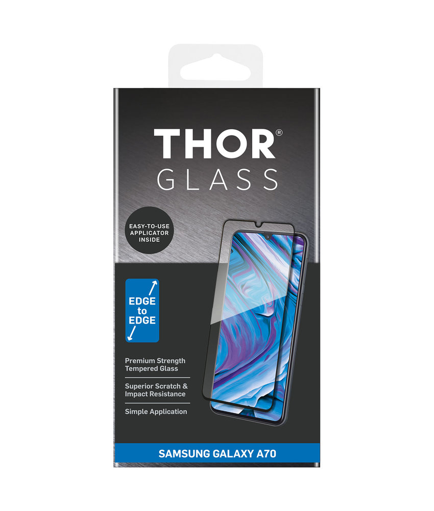 THOR Full Screenprotector + Apply Frame Samsung Galaxy A70