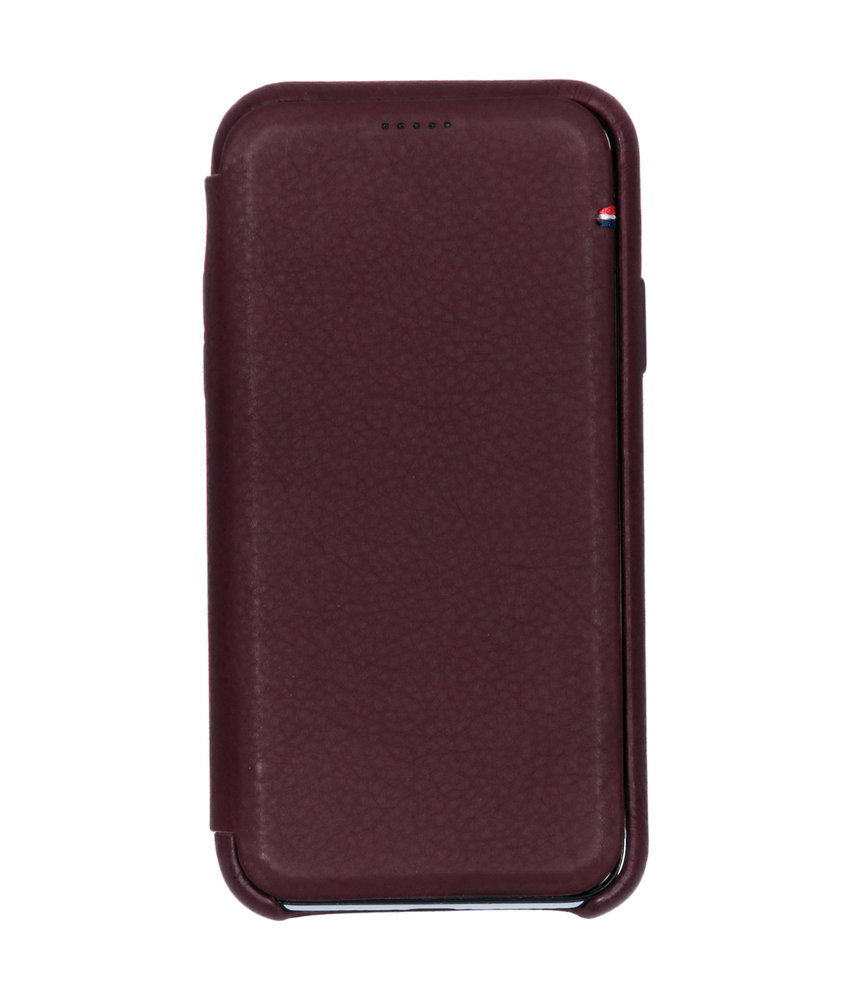 Decoded Leather Slim Wallet iPhone Xs / X - Paars