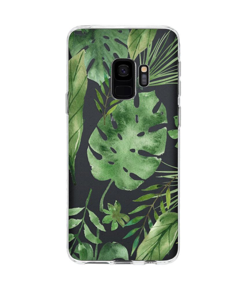 Accezz Design Siliconen Backcover Samsung Galaxy S9