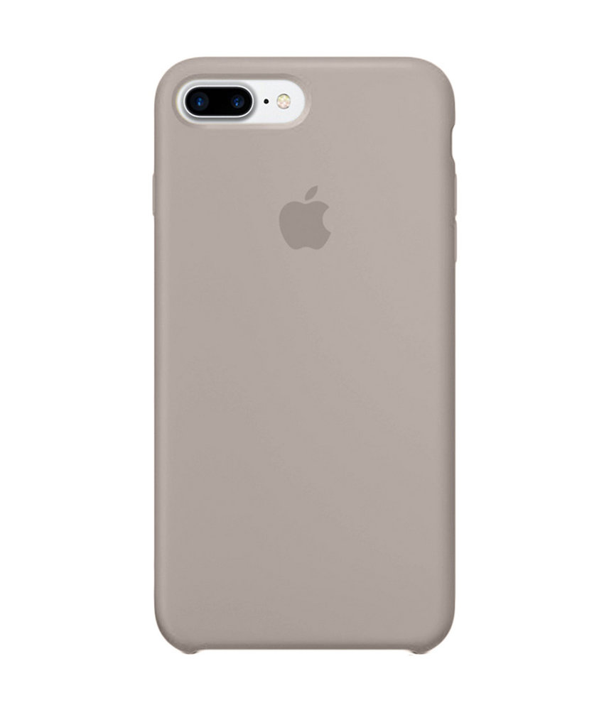 Apple Silicone Backcover iPhone 8 Plus / 7 Plus - Taupe
