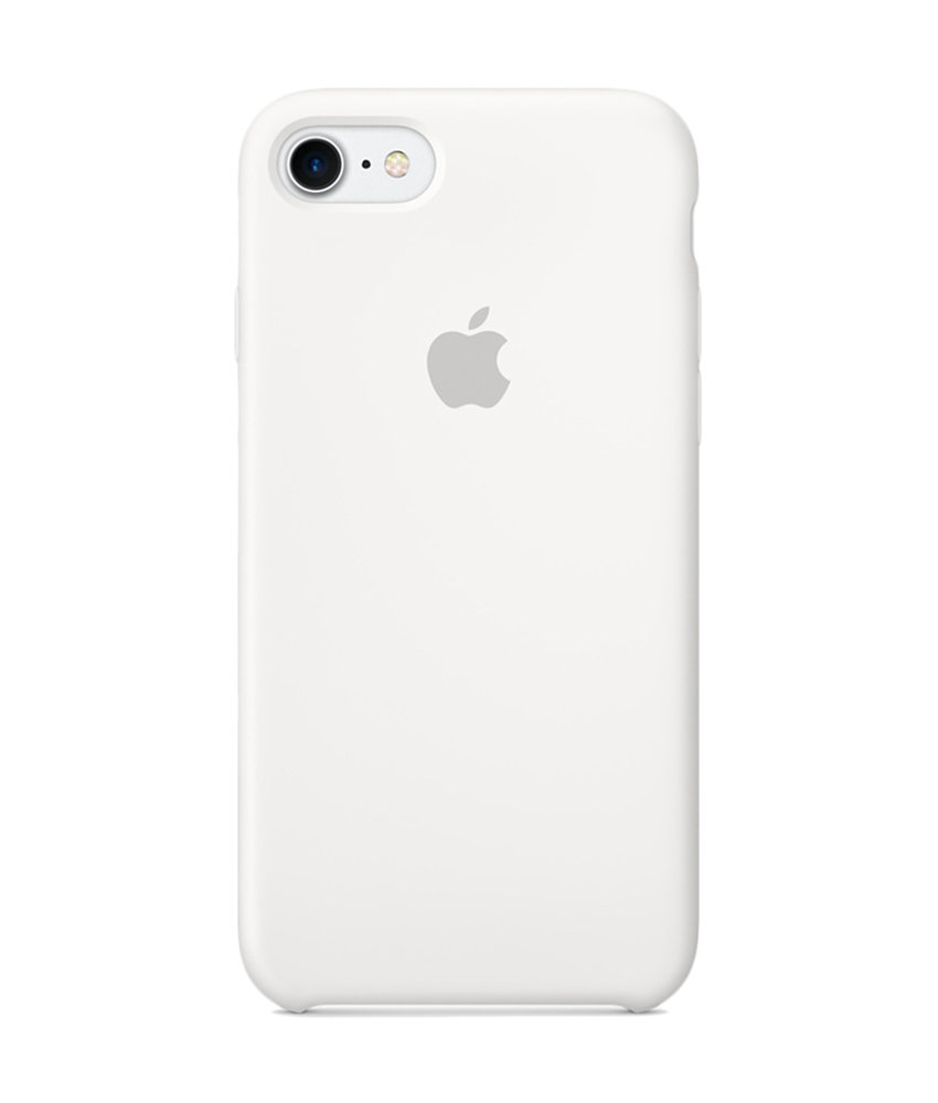 Apple Silicone Backcover iPhone 8 / 7 - White