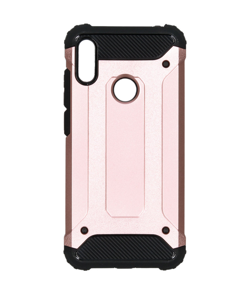 iMoshion Rugged Xtreme Backcover Huawei Y6 (2019) - Rosé Goud