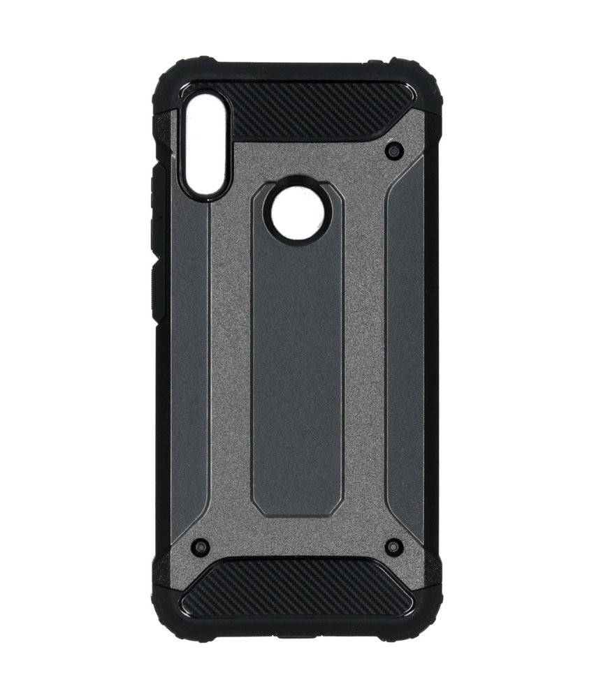iMoshion Rugged Xtreme Backcover Huawei Y6 (2019) - Zwart