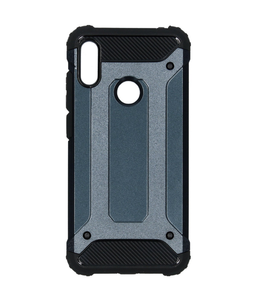 iMoshion Rugged Xtreme Backcover Huawei Y6 (2019) - Donkerblauw