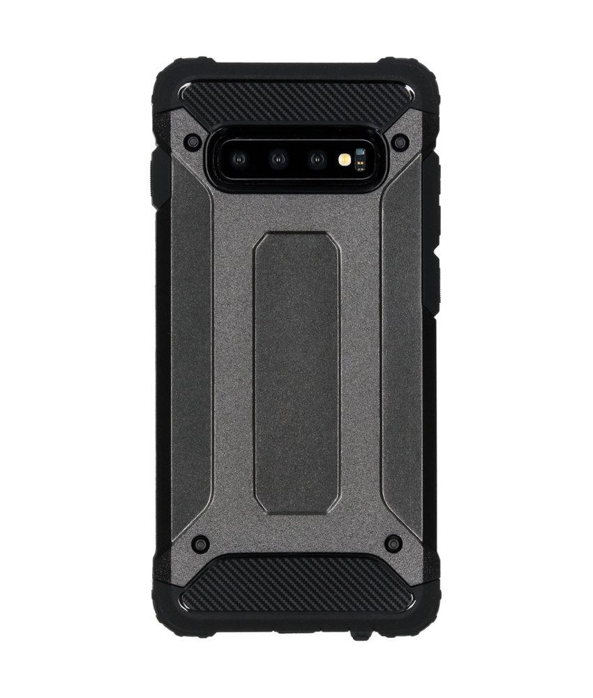 iMoshion Rugged Xtreme Backcover Samsung Galaxy S10 Plus - Zwart