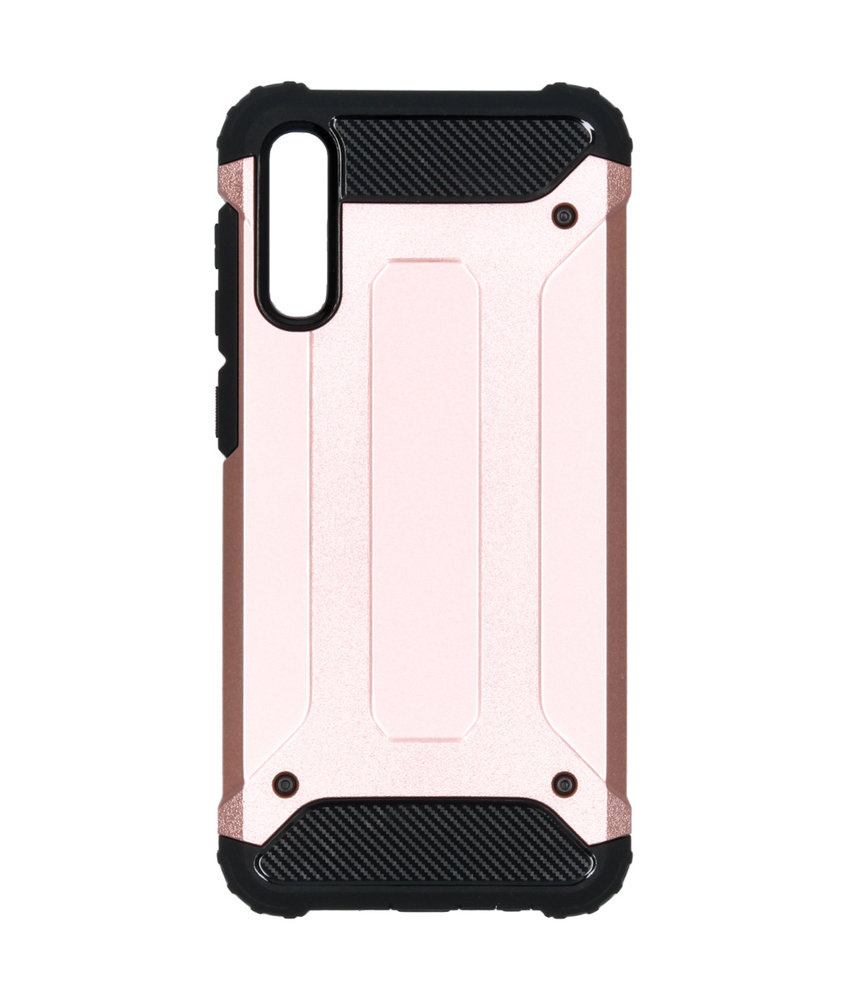 iMoshion Rugged Xtreme Backcover Samsung Galaxy A50 - Rosé Goud