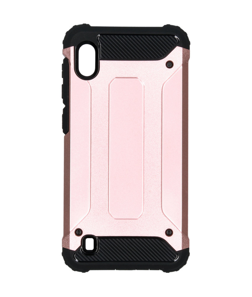 iMoshion Rugged Xtreme Backcover Samsung Galaxy A10 - Rosé Goud