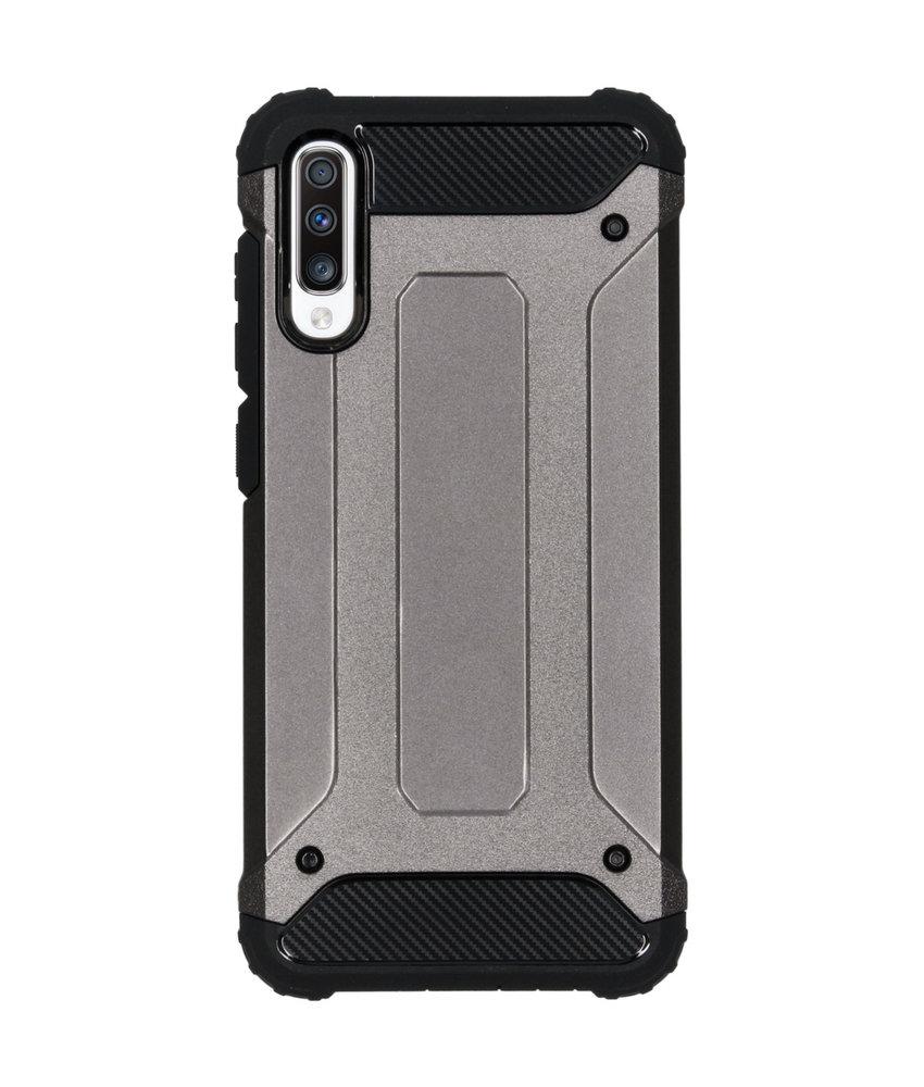 iMoshion Rugged Xtreme Backcover Samsung Galaxy A70 - Grijs