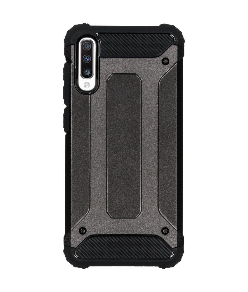 iMoshion Rugged Xtreme Backcover Samsung Galaxy A70 - Zwart