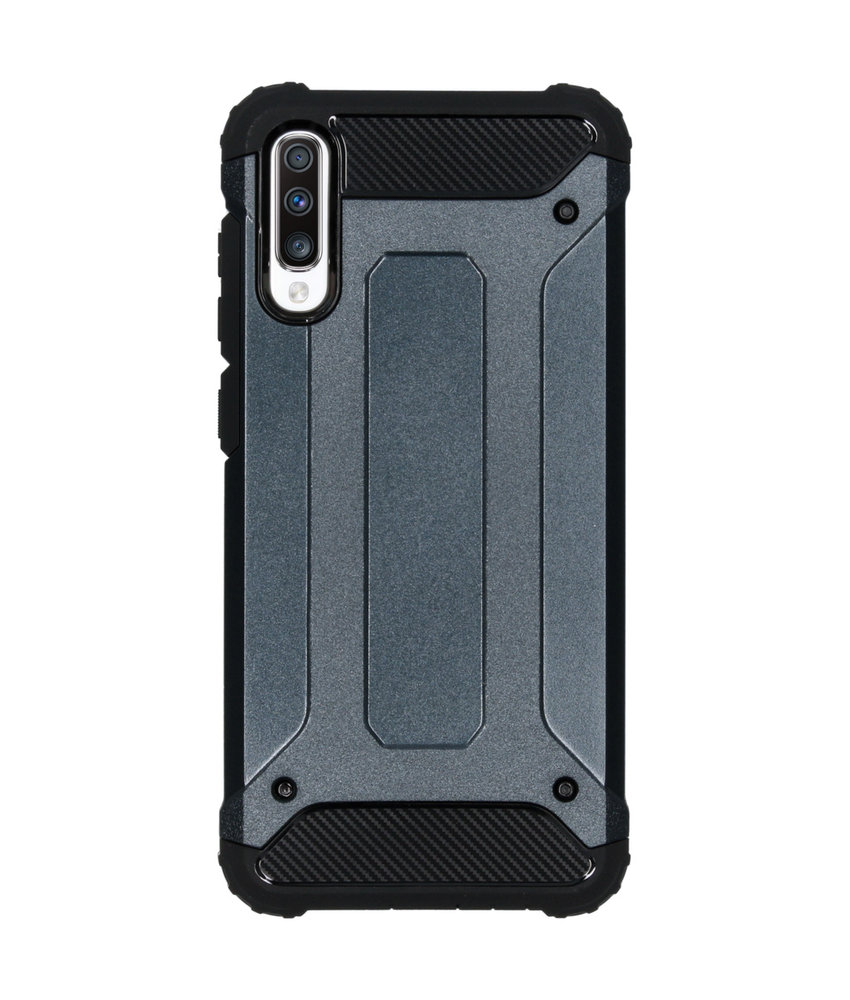 iMoshion Rugged Xtreme Backcover Samsung Galaxy A70 - Donkerblauw