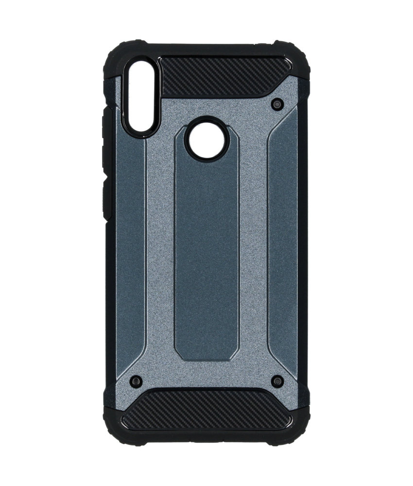 iMoshion Rugged Xtreme Backcover Huawei Y7 (2019) - Donkerblauw