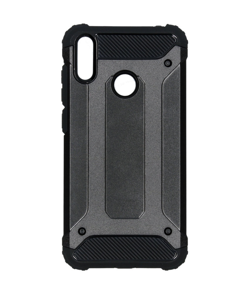 iMoshion Rugged Xtreme Backcover Huawei Y7 (2019) - Zwart