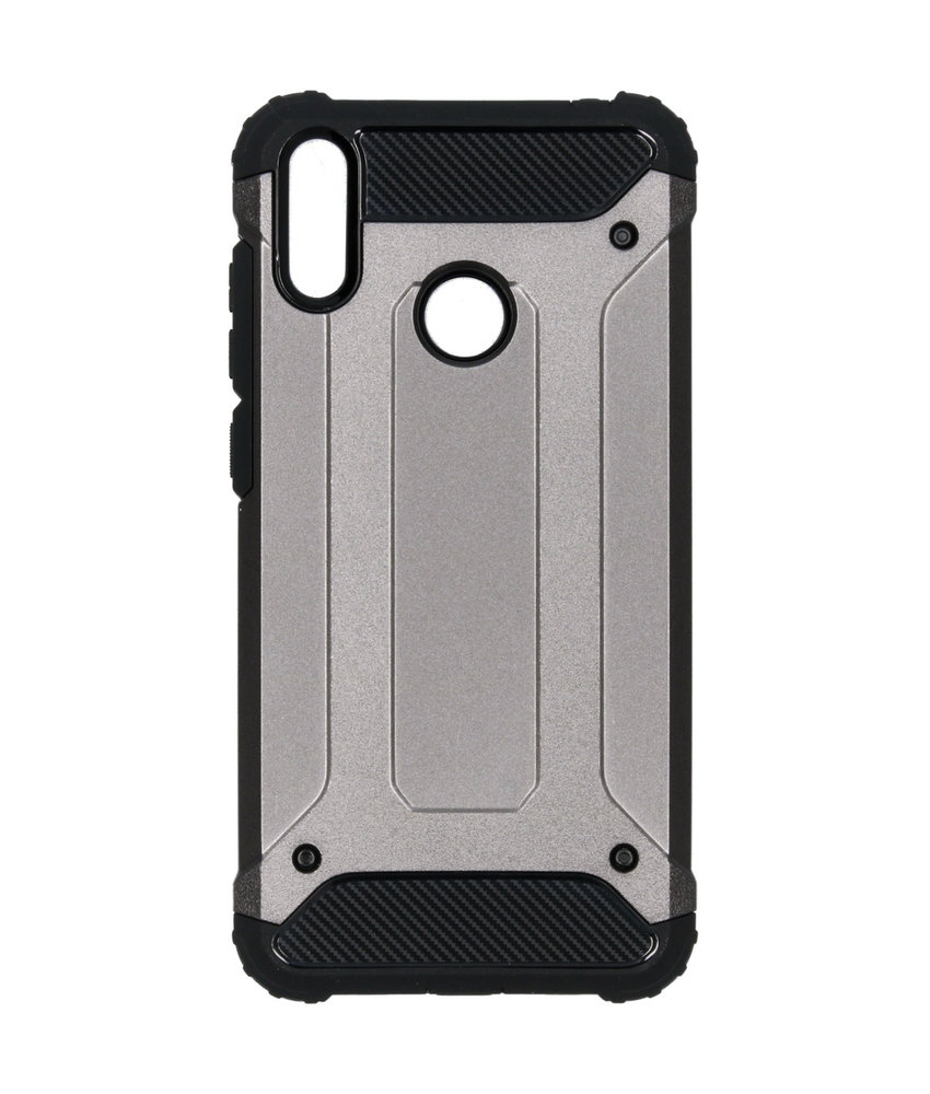 iMoshion Rugged Xtreme Backcover Huawei Y7 (2019) - Grijs