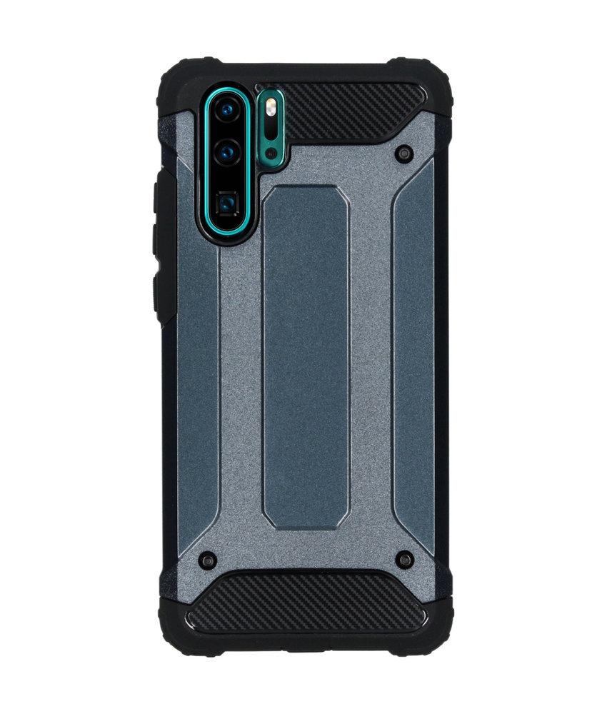 iMoshion Rugged Xtreme Backcover Huawei P30 Pro - Donkerblauw