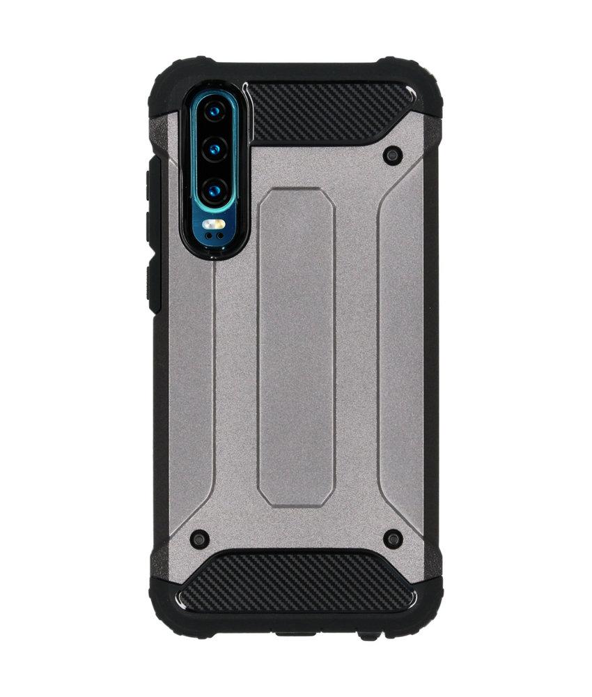 iMoshion Rugged Xtreme Backcover Huawei P30 - Grijs