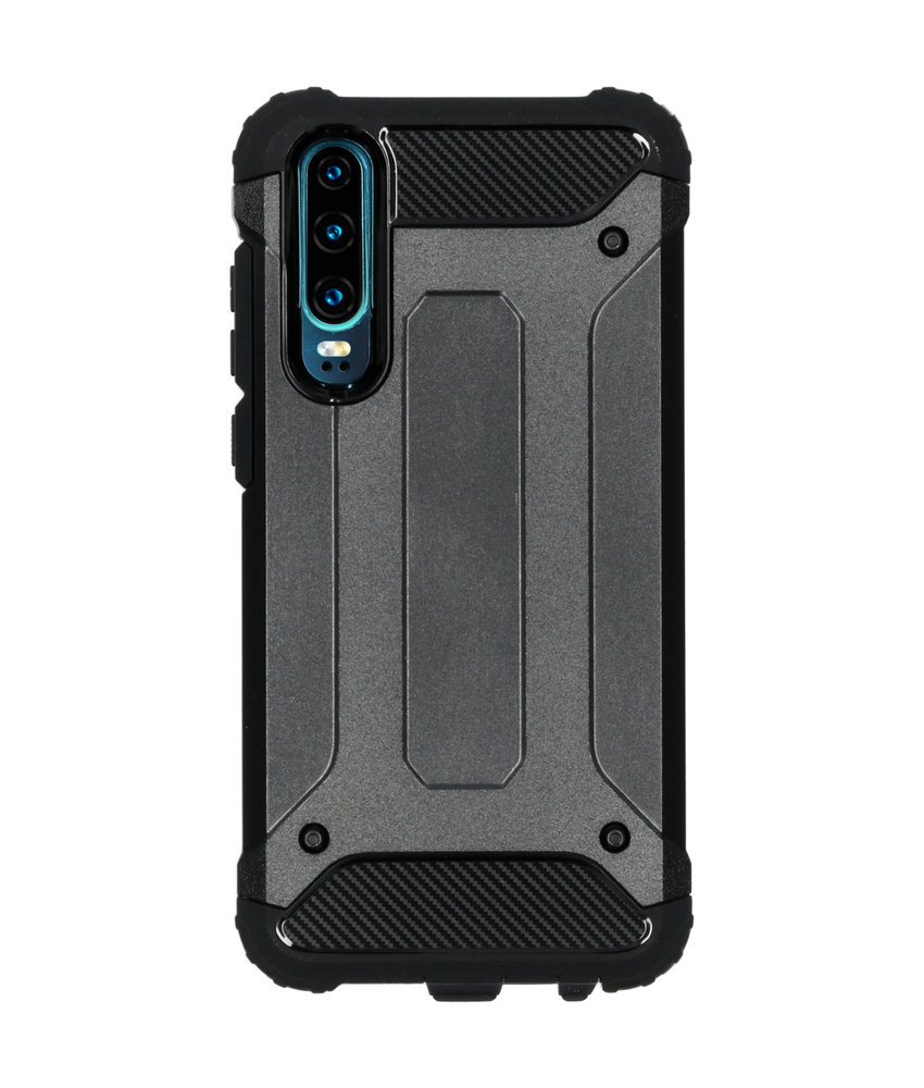 iMoshion Rugged Xtreme Backcover Huawei P30 - Zwart