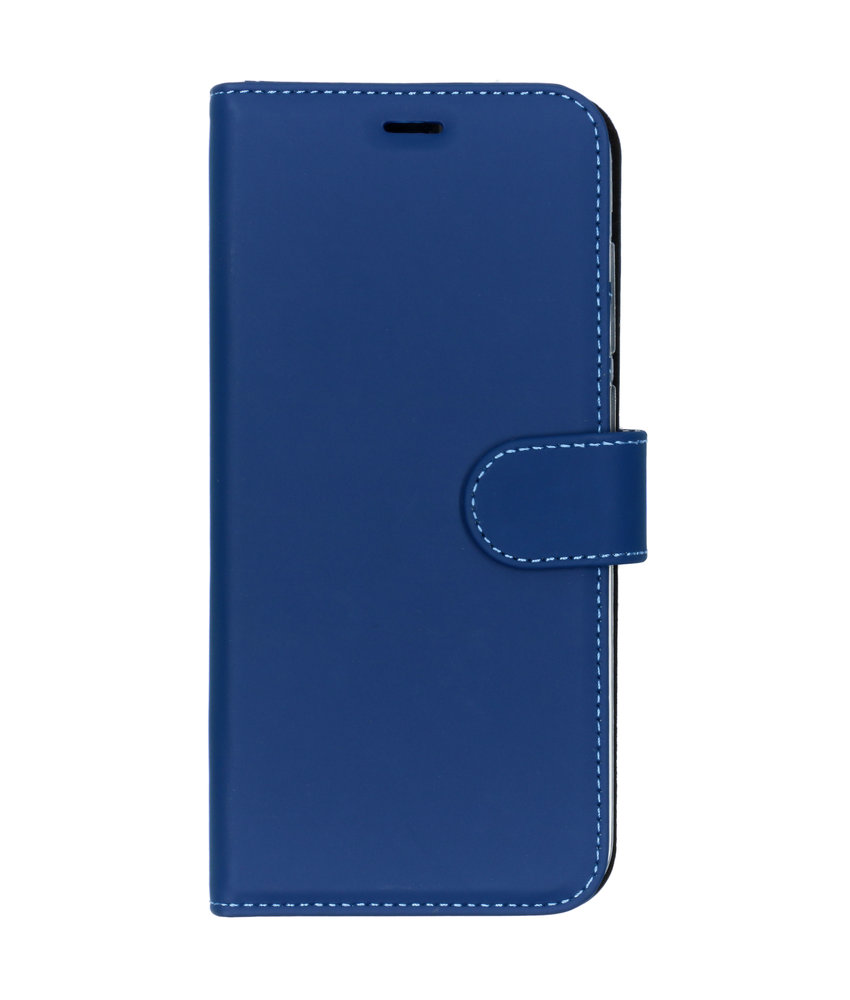Accezz Wallet Softcase Booktype Huawei Y7 (2019) - Donkerblauw