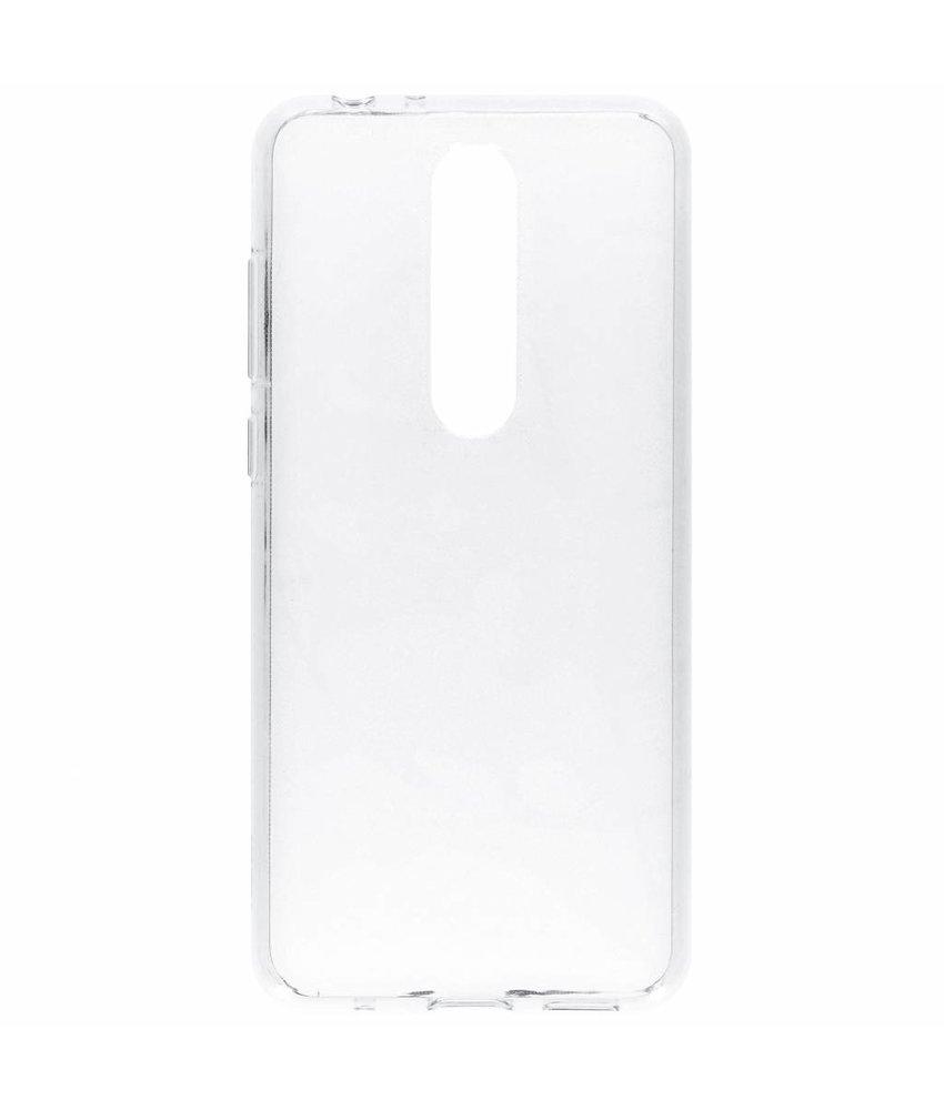 Nokia Clear Backcover Nokia 5.1 Plus