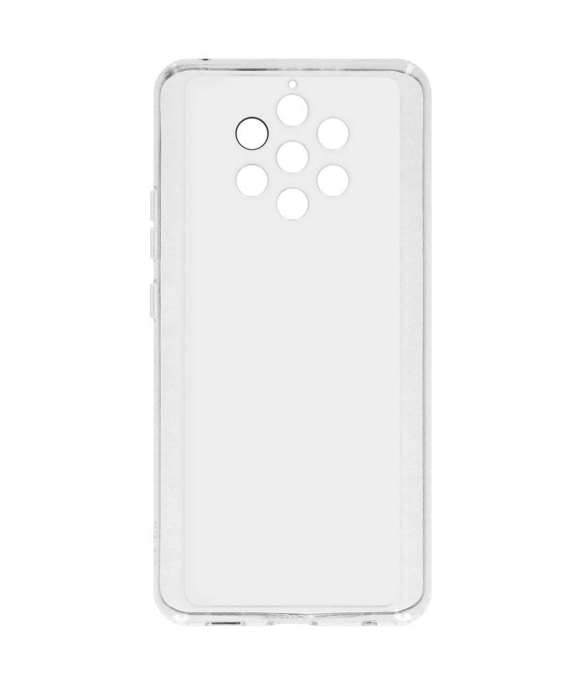 Nokia Clear Backcover Nokia 9 Pureview - Transparant