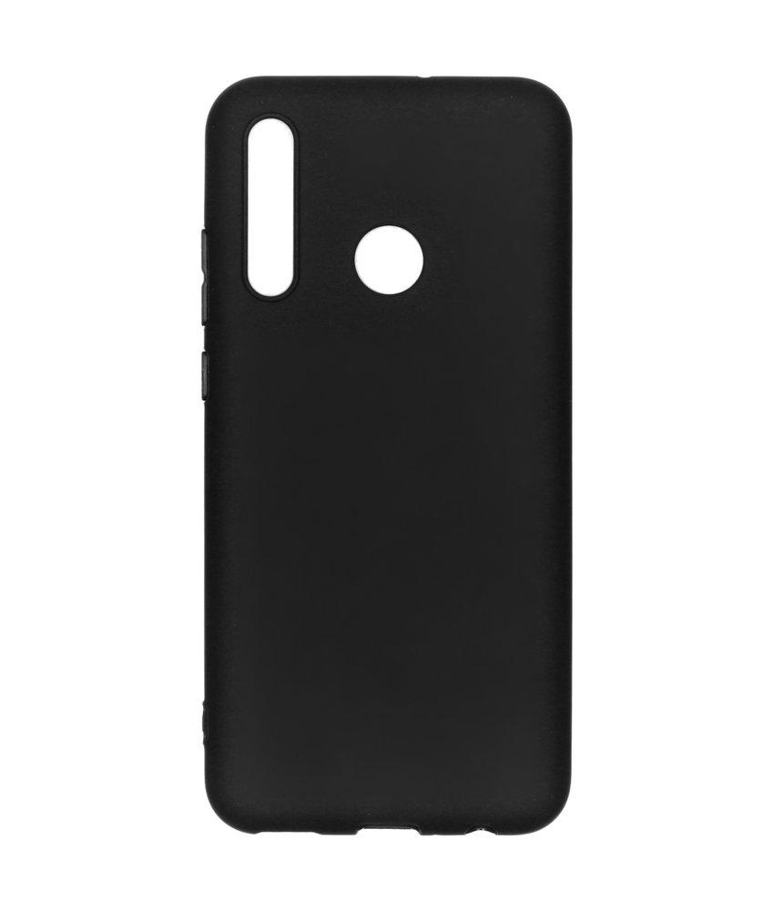 iMoshion Color Backcover Huawei P Smart Plus (2019) - Zwart