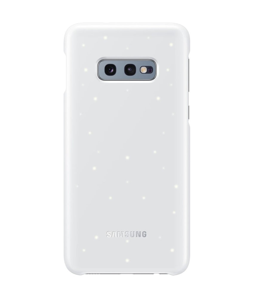 Samsung LED Backcover Samsung Galaxy S10e - Wit
