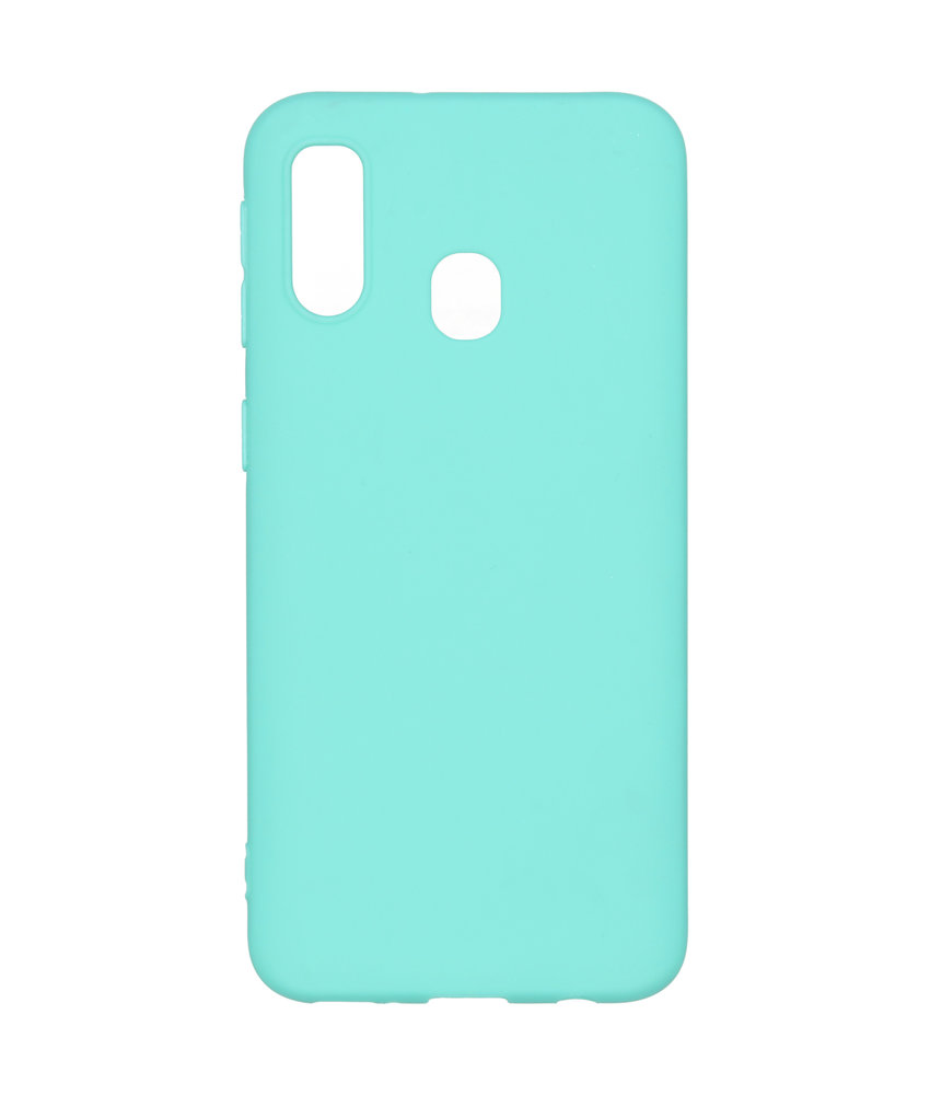 iMoshion Color Backcover Samsung Galaxy A40 - Mintgroen