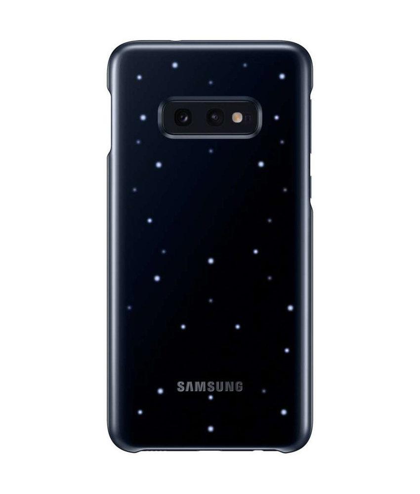 Samsung LED Backcover Samsung Galaxy S10e - Zwart