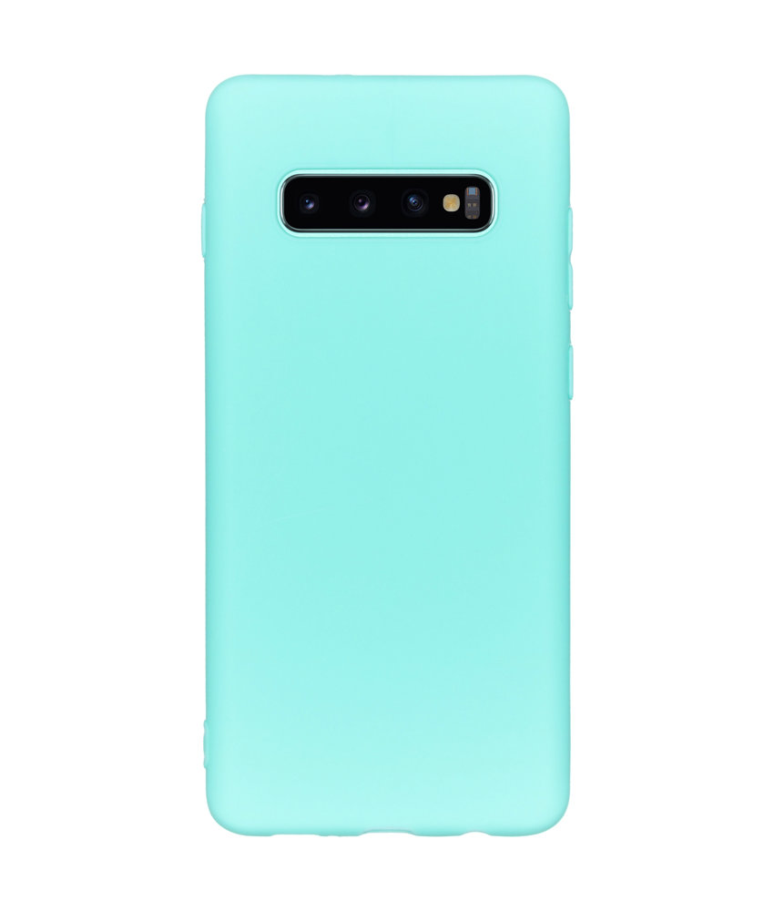 iMoshion Color Backcover Samsung Galaxy S10 Plus - Mintgroen