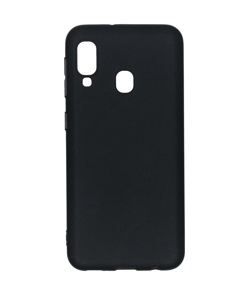 iMoshion Color Backcover Samsung Galaxy A20e - Zwart