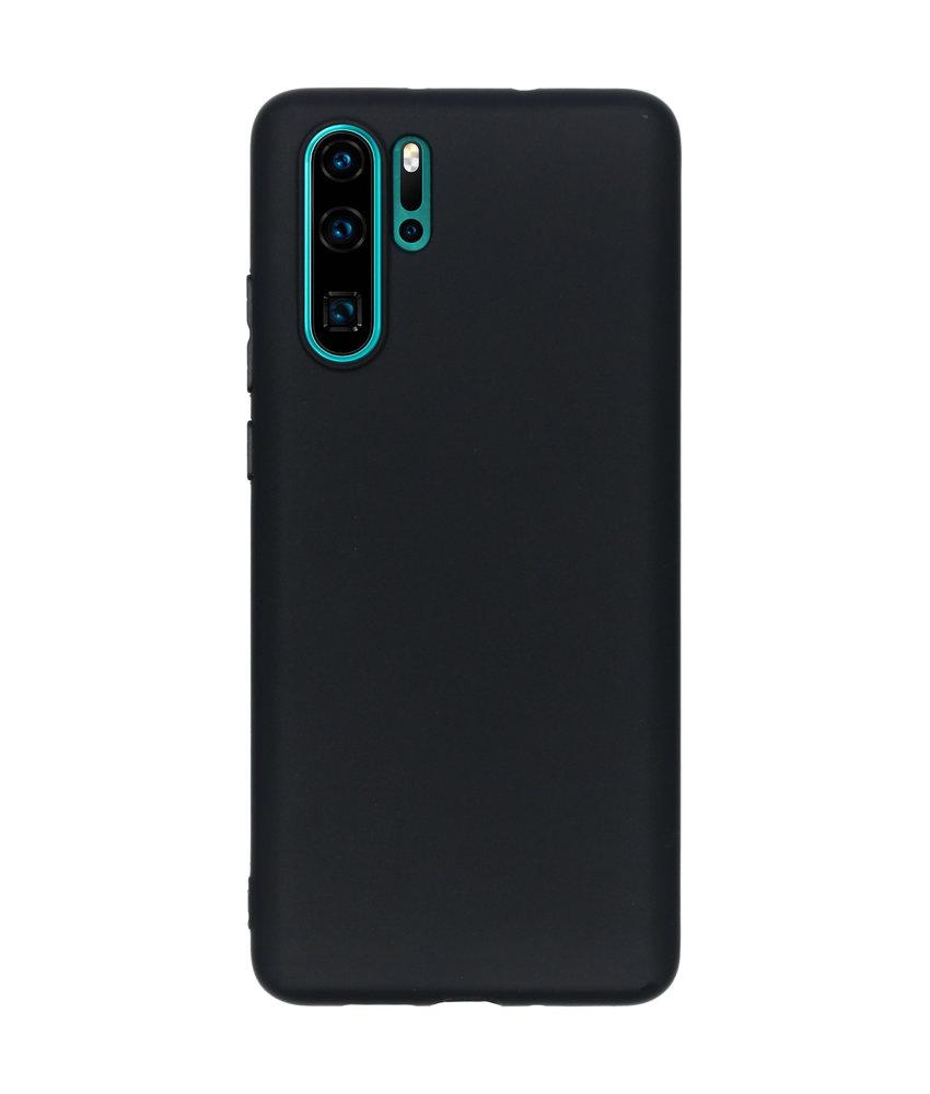 iMoshion Color Backcover Huawei P30 Pro - Zwart