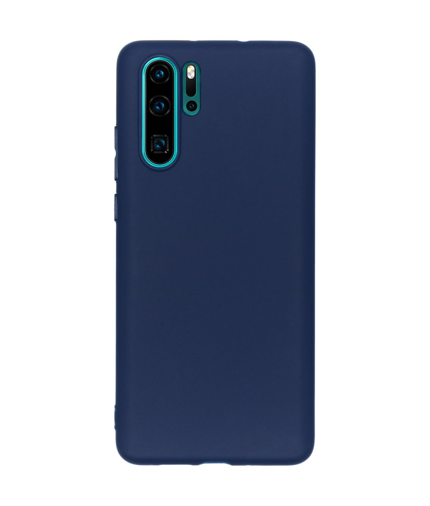 iMoshion Color Backcover Huawei P30 Pro - Donkerblauw