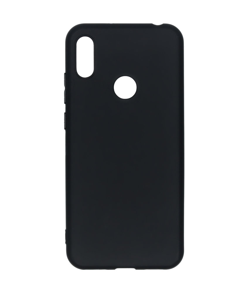 iMoshion Color Backcover Huawei Y6 (2019) - Zwart