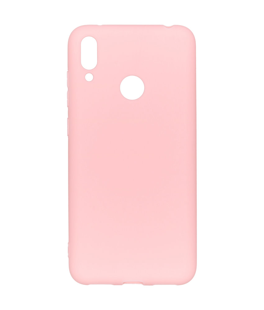 iMoshion Color Backcover Huawei Y7 (2019) - Roze