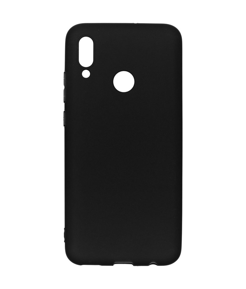 iMoshion Color Backcover Huawei P Smart (2019) - Zwart