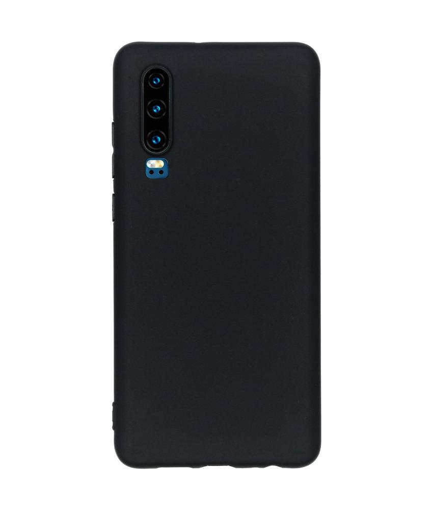 iMoshion Color Backcover Huawei P30 - Zwart
