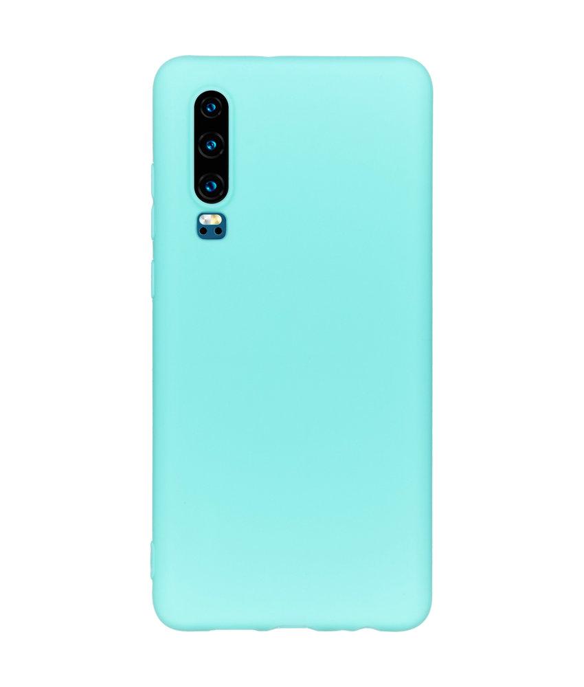 iMoshion Color Backcover Huawei P30 - Mintgroen