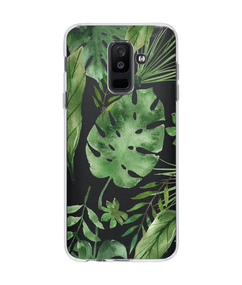 Accezz Design Siliconen Backcover Samsung Galaxy A6 Plus (2018)