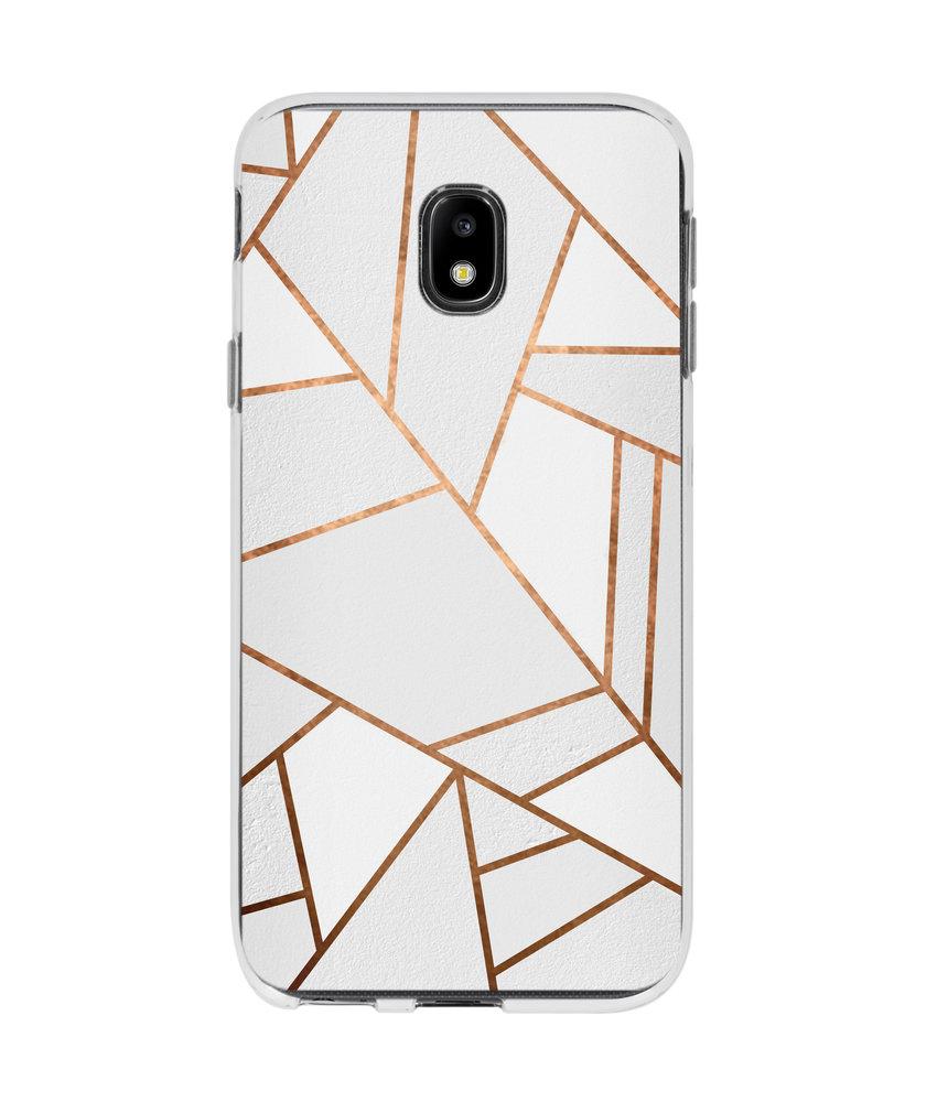 Accezz Design Siliconen Backcover Samsung Galaxy J3 (2017)