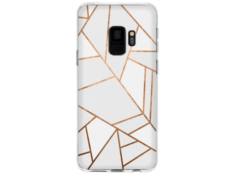 Samsung Galaxy S9 hoesje - Accezz Design Siliconen Backcover