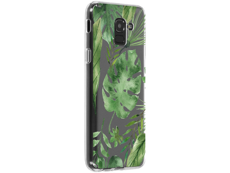 Samsung Galaxy J6 hoesje - Accezz Design Siliconen Backcover