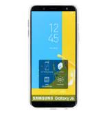 Samsung Galaxy J6 hoesje - Accezz Design Siliconen Backcover