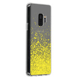 Design Backcover voor de Samsung Galaxy S9 - Splatter Yellow