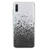 Design Backcover voor de Samsung Galaxy A70 - Splatter Black