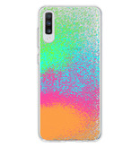 Design Backcover voor de Samsung Galaxy A70 - Splatter Color